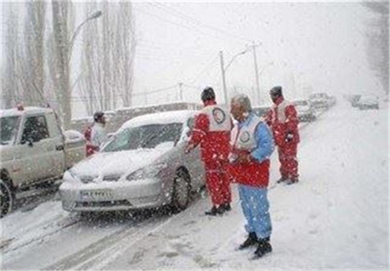 95 پایگاه شهری و هوایی در طرح زمستانی همدان فعال شد