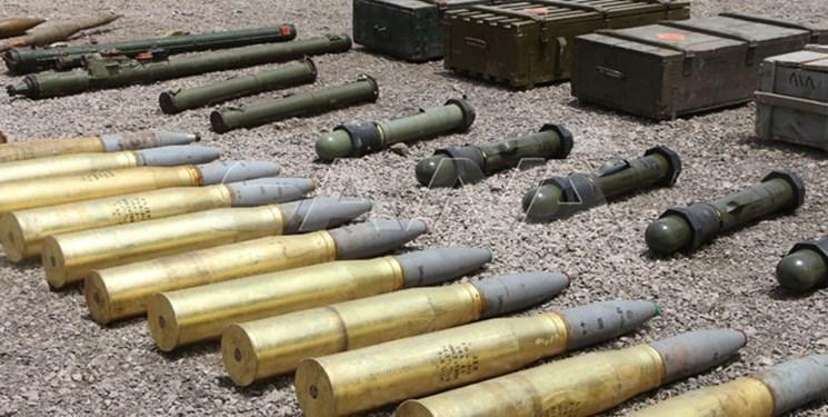 کشف مقادیر زیاد سلاح های ساخت غرب از تروریست ها در سوریه